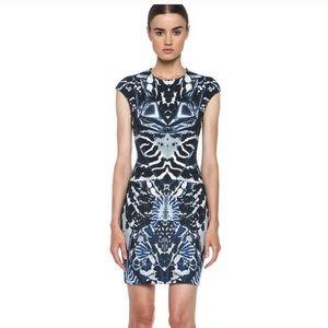 McQ by Alexander McQueen cap sleeve bodycon dress